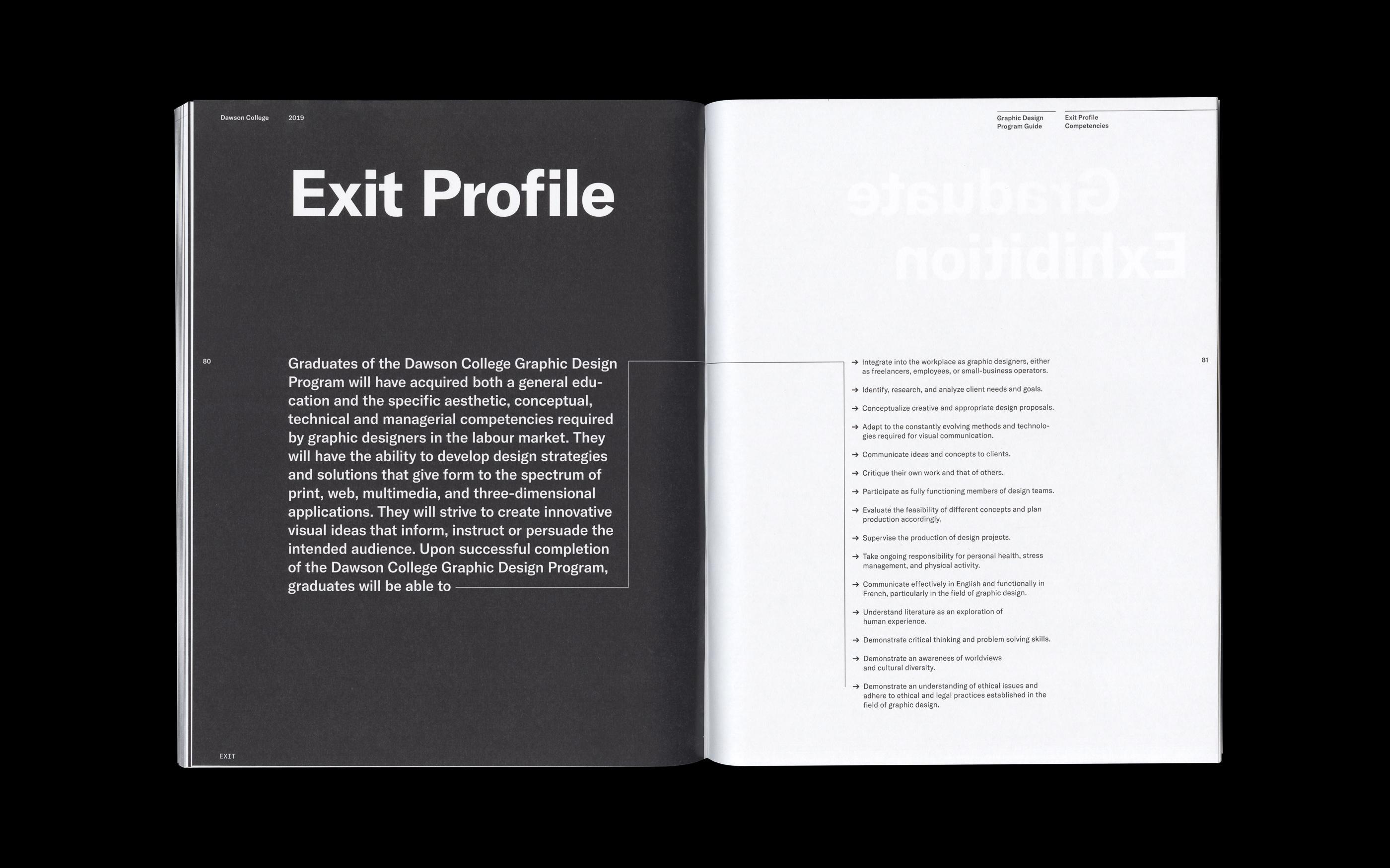 Exit Profile Spread
