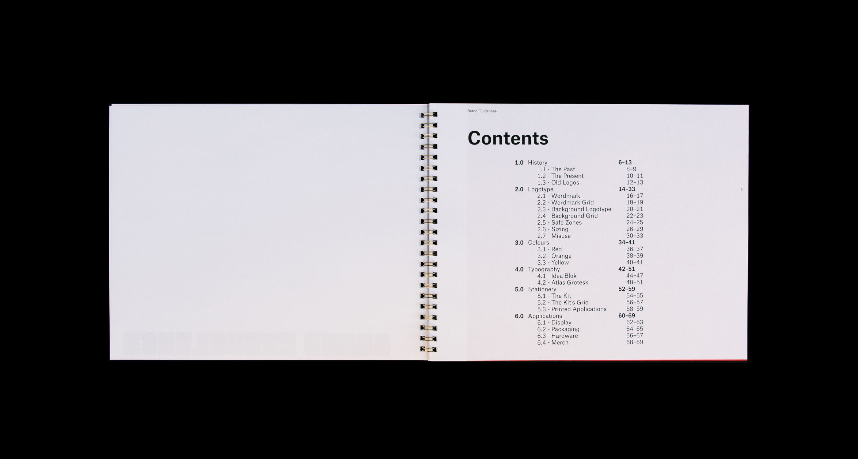 Brand Guidelines Contents
