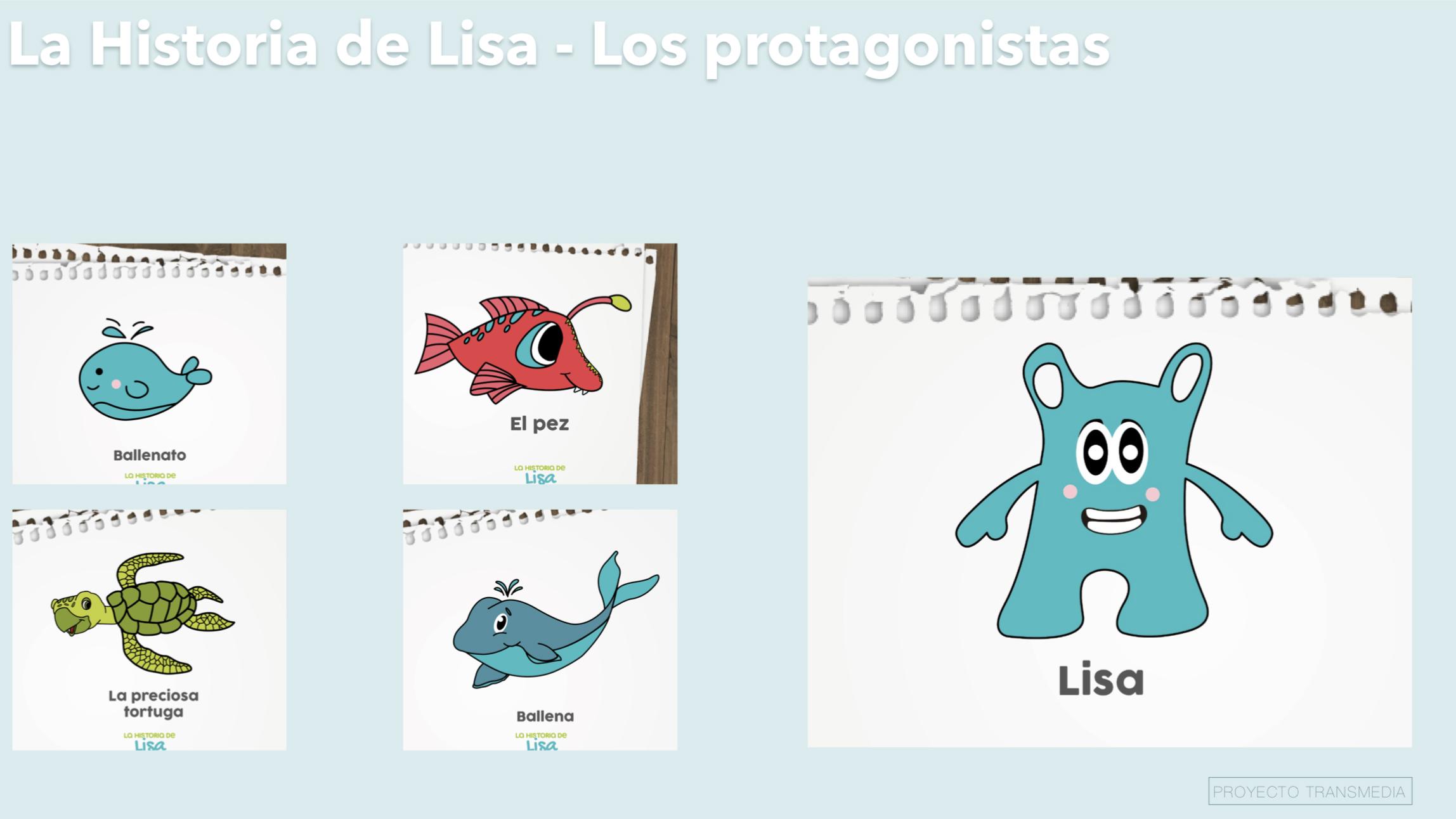 Personajes La Historia De Lisa