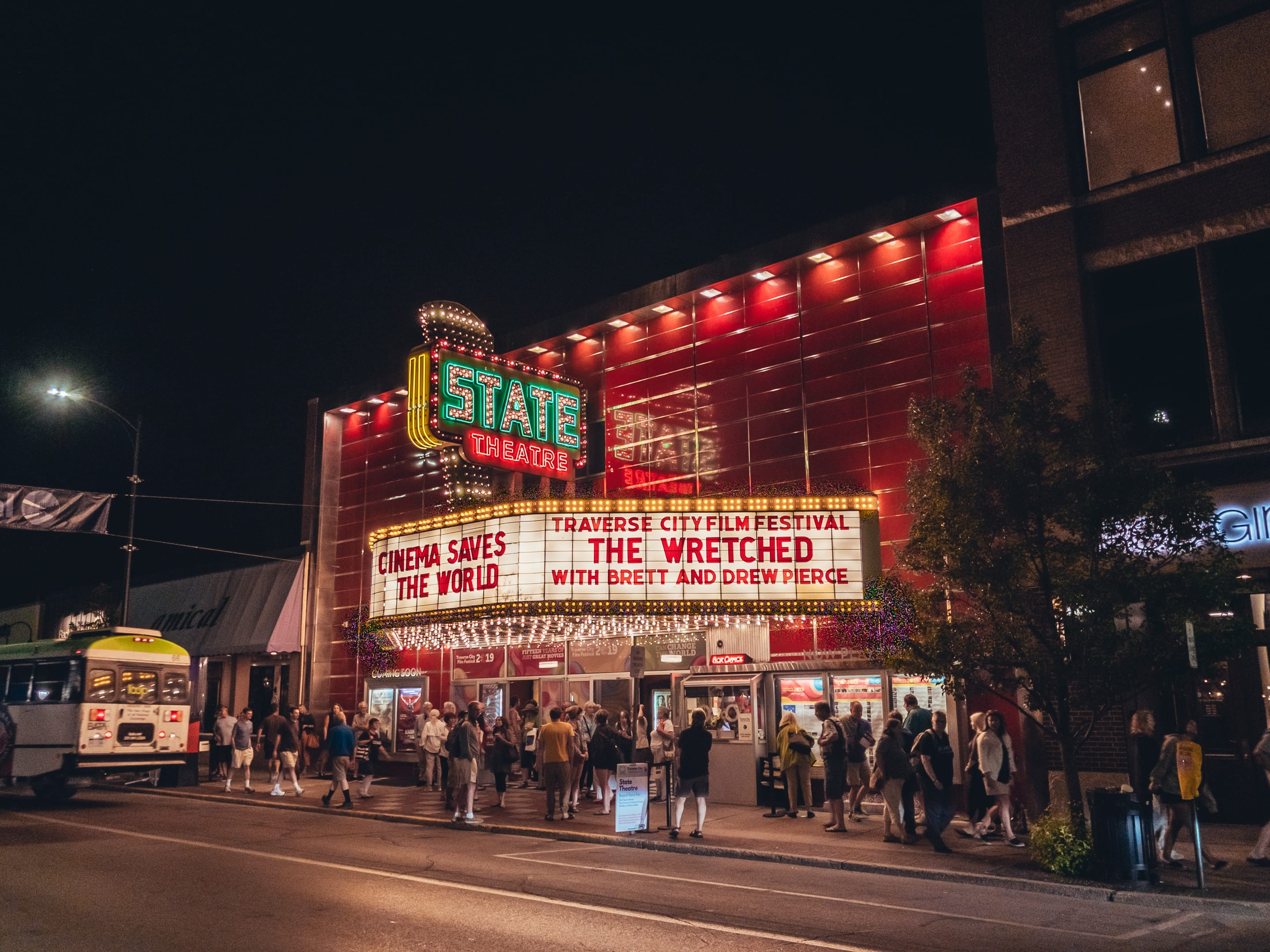 The State Theater in Traverse City