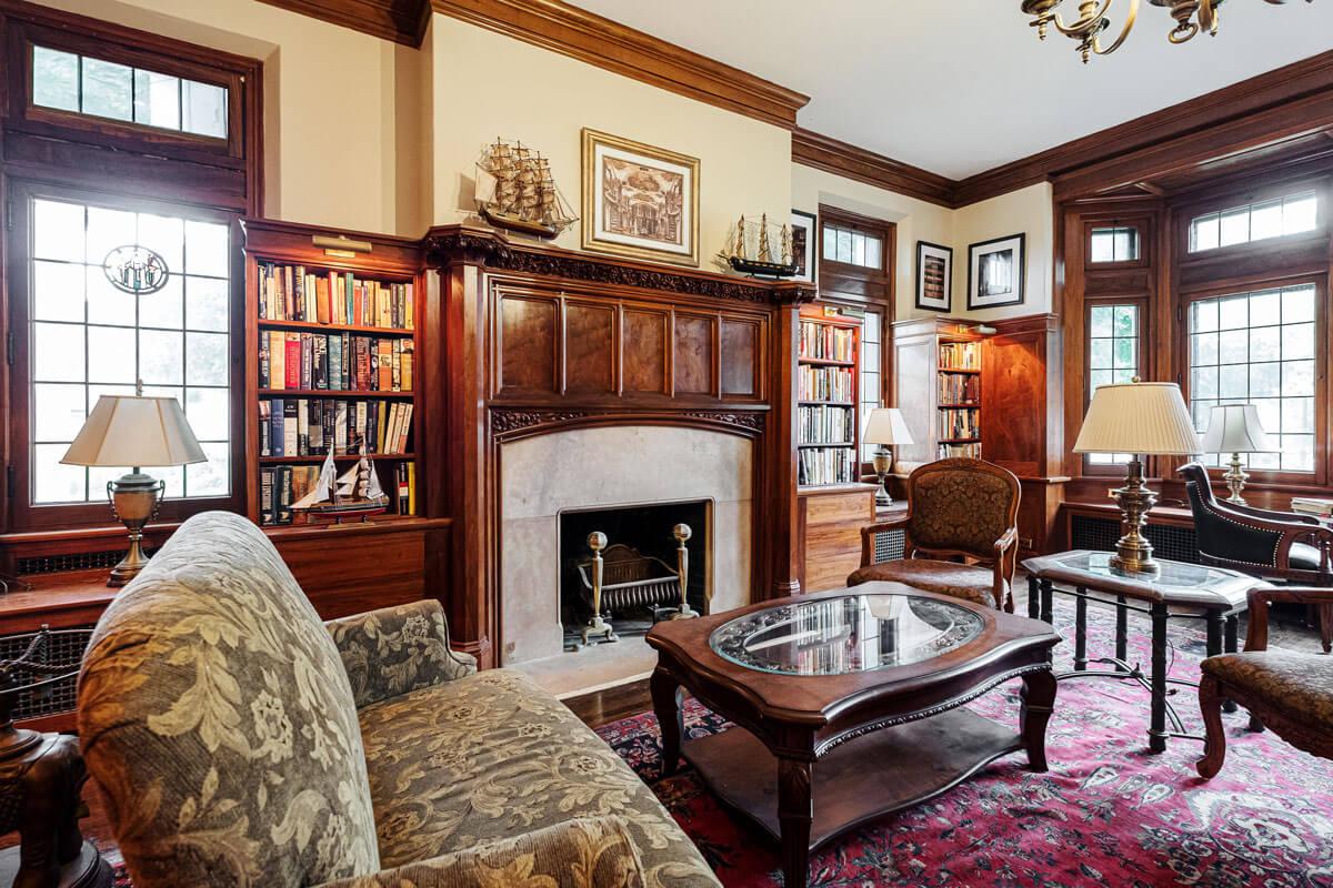 The Davidson living room
