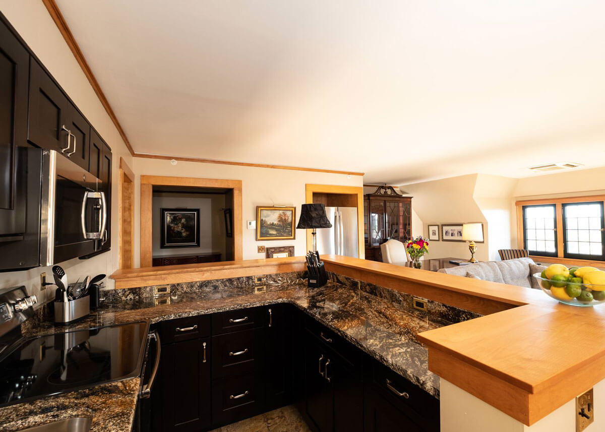 The Davison Hotel kitchen