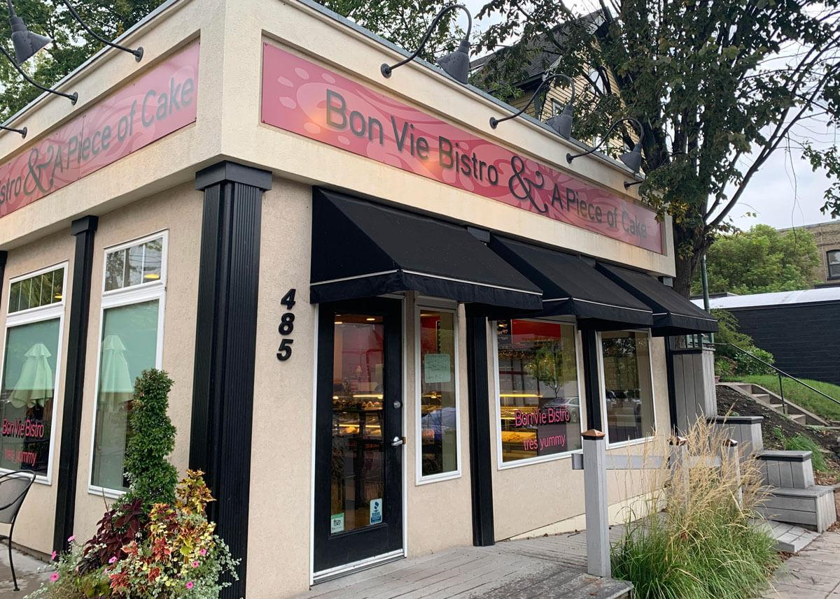 Bon Vie Bistro cafe exterior