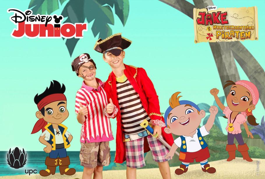 Green screen fotostudio van Funpix actief tijdens diverse Disney kinderdagen in de winkels van UPC. Op de foto als prinses of piraat.