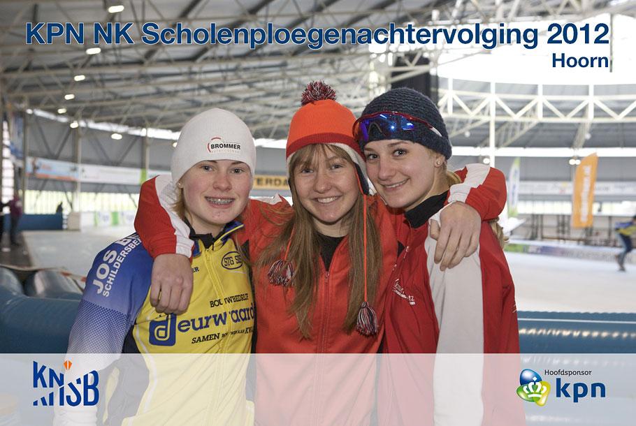Fotografie op scholen. In Hoorn fotografeerden we de verschillende scholenploegen in de pauzemomenten van de wedstrijden.