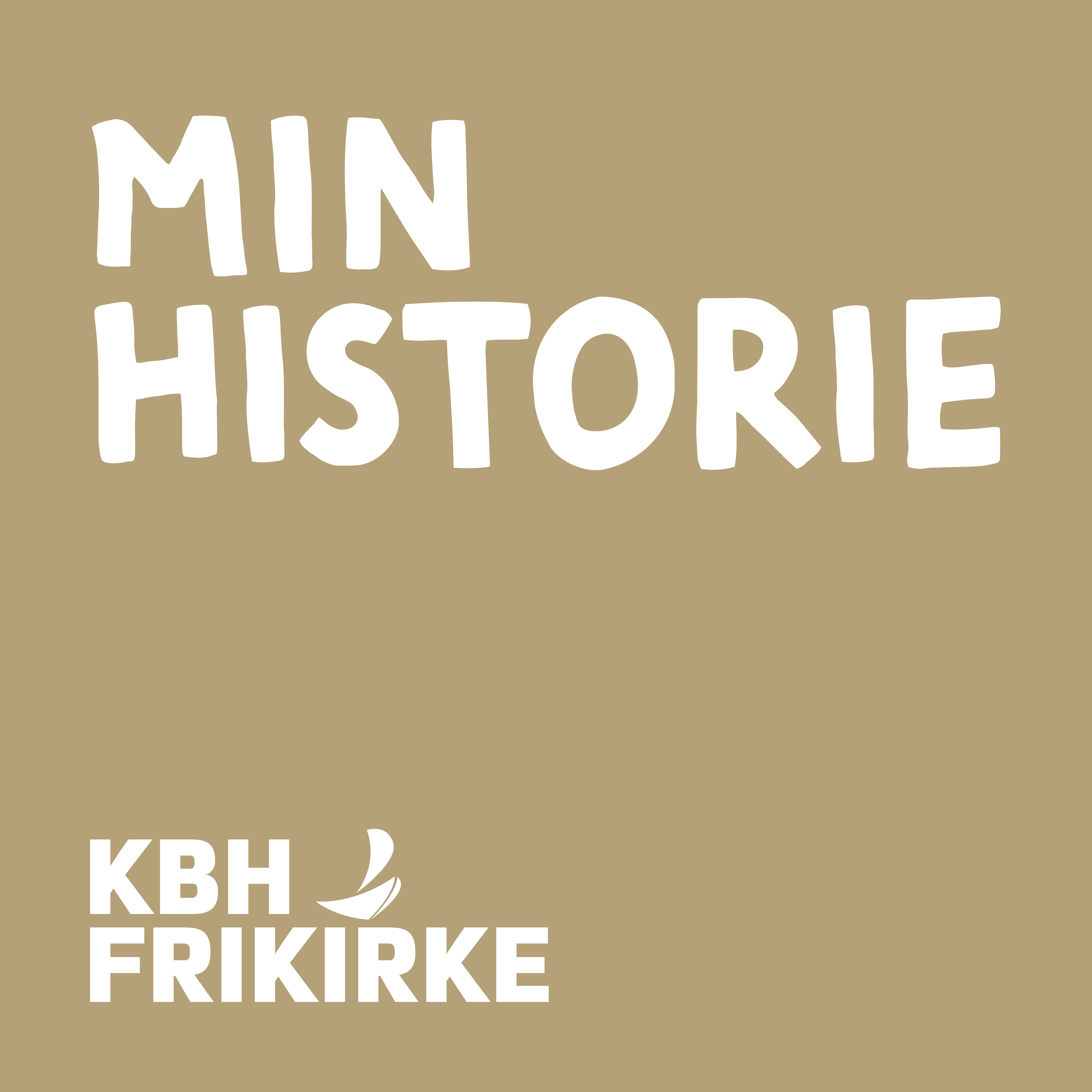 Podcast cover, Min Historie