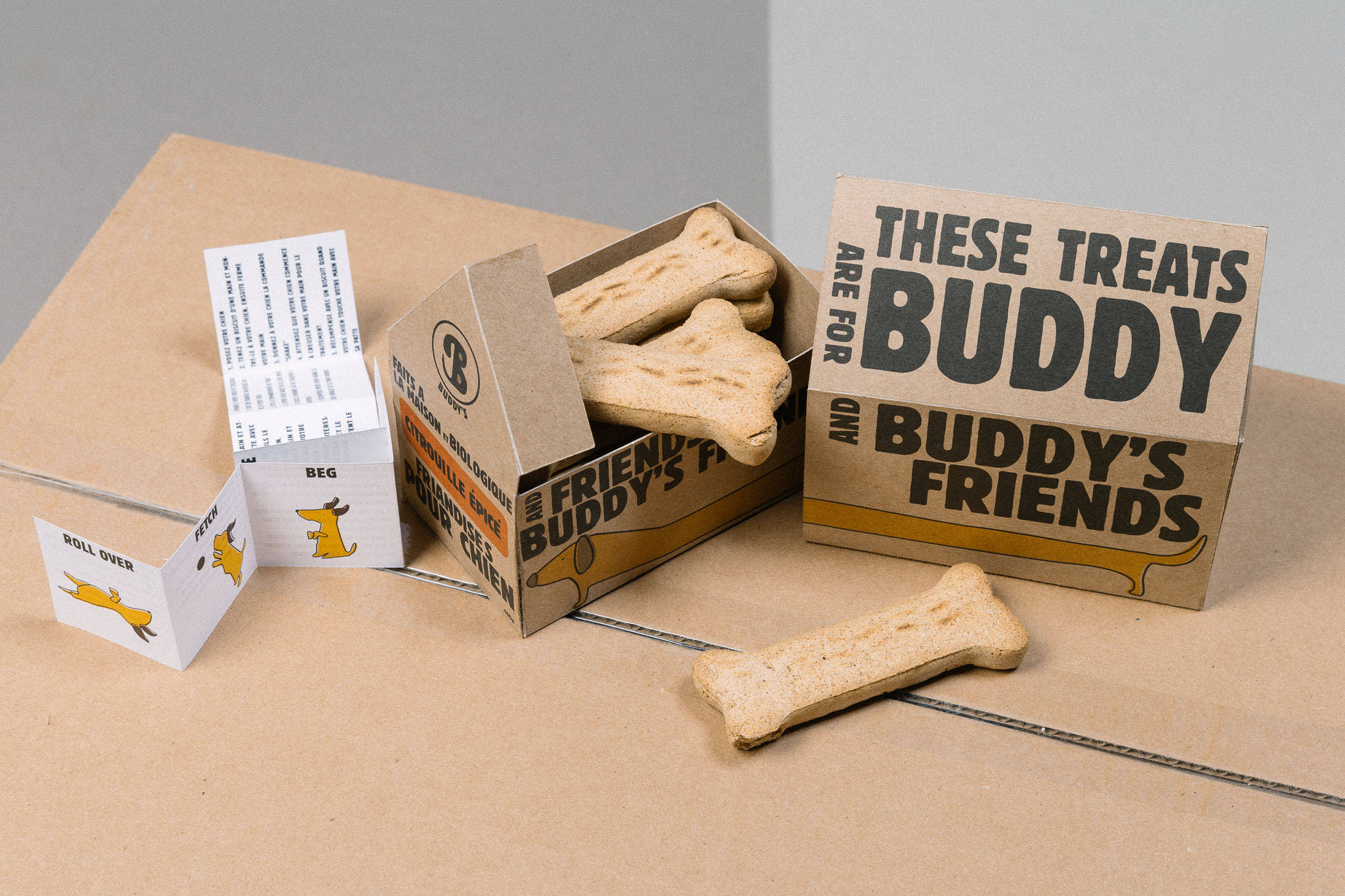 buddy's packaging