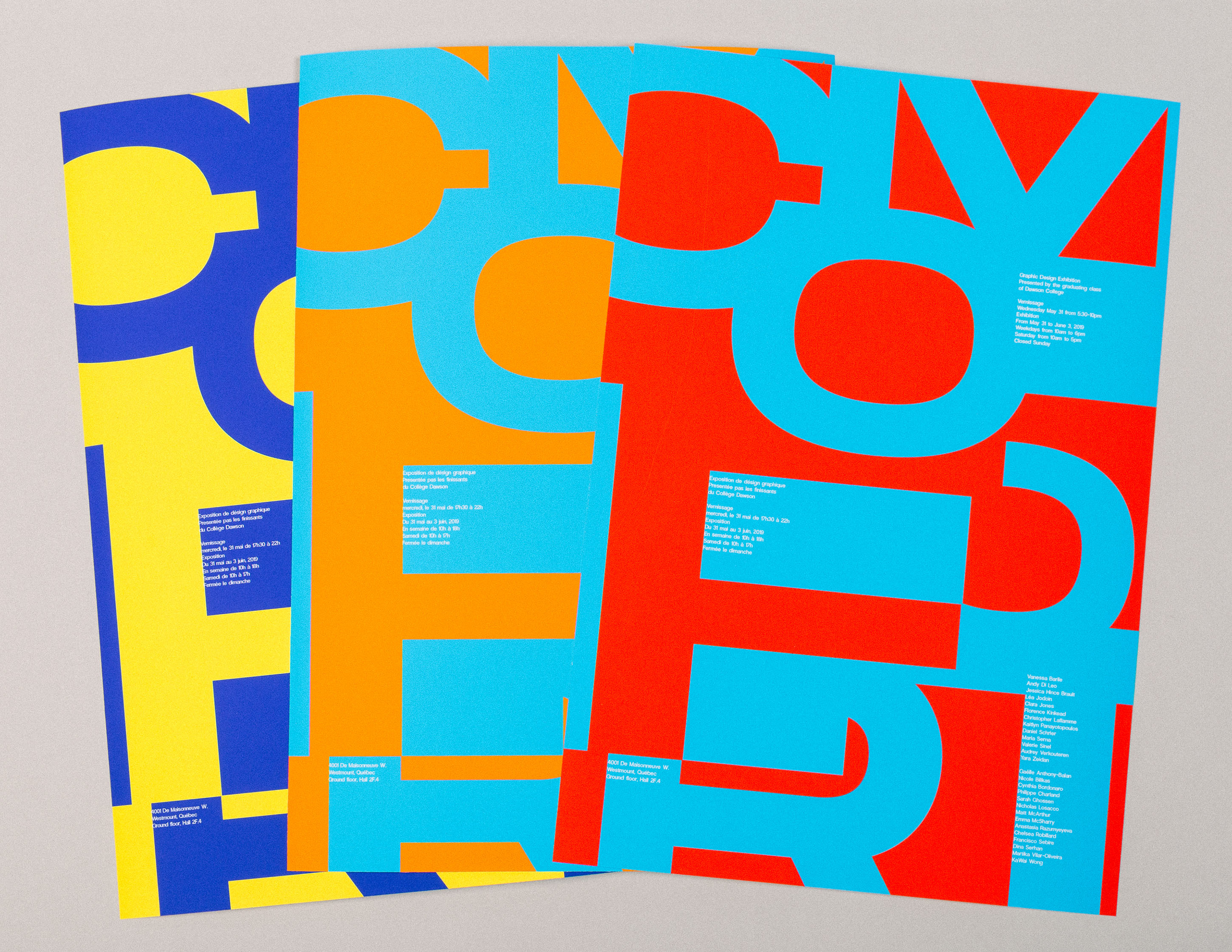 colourful posters