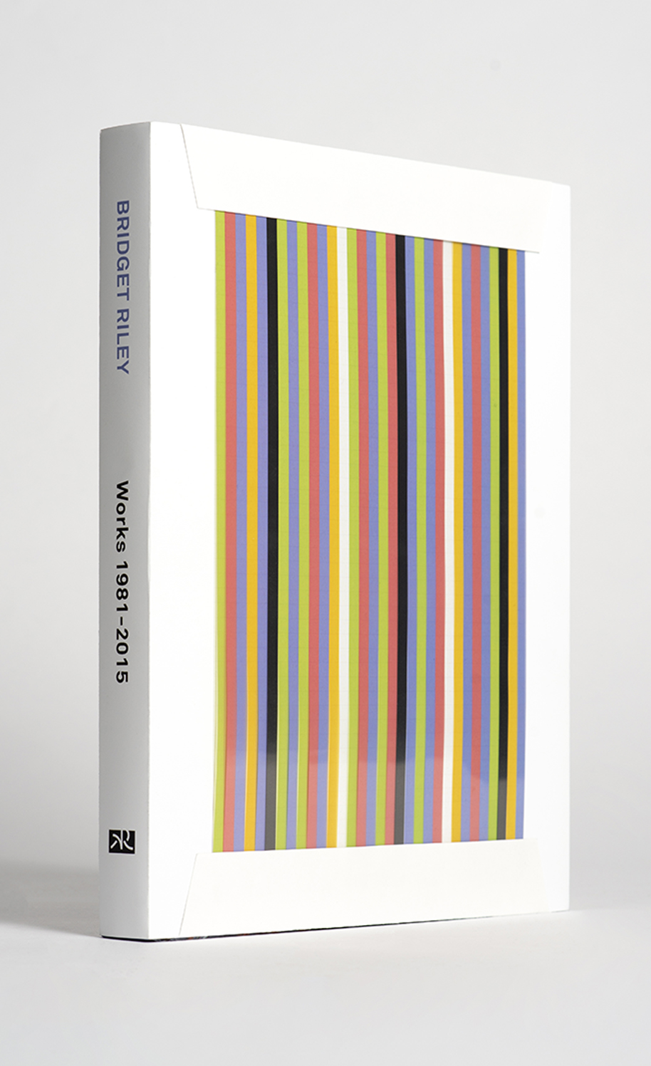 Bridget Riley art book thumbnail