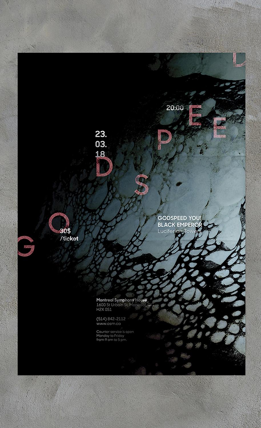 Godspeed music poster thumbnail