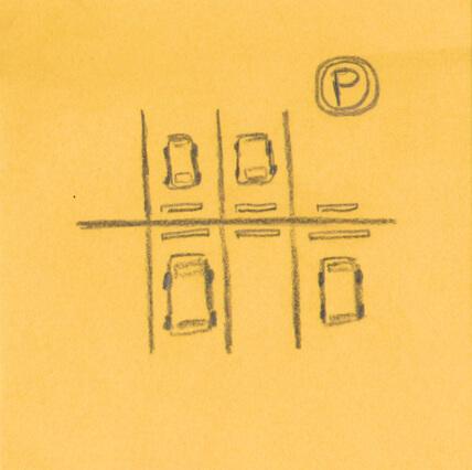 Storyboard: find parking