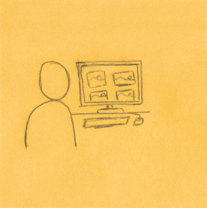 Storyboard: Search online