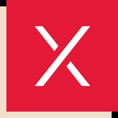 R/GA X red logo