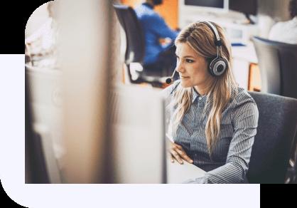 remote call center monitoring