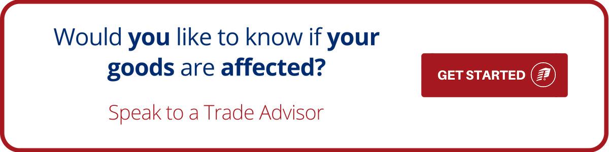 Trade Advisor Goods Affected
