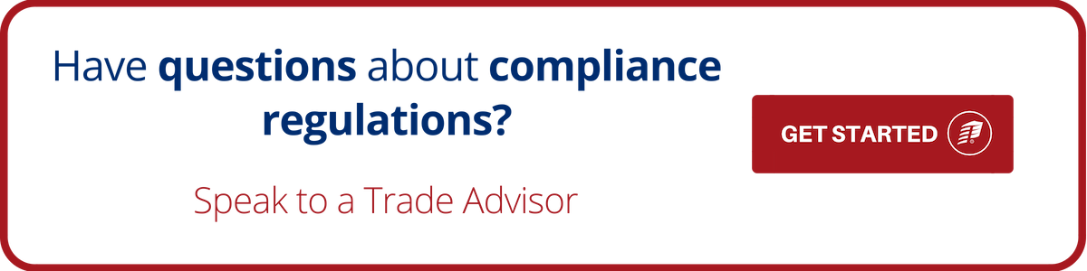 Have questions about compliance regulations?