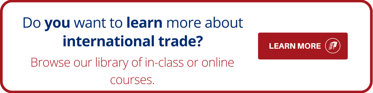 International Trade Learn More