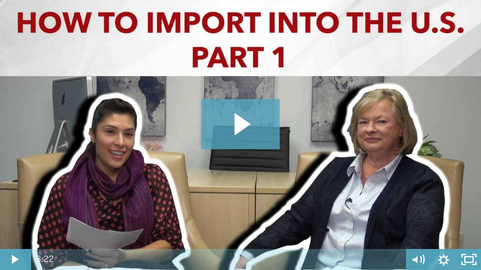 Thumbnail - How To Importing Into The US - Part 1
