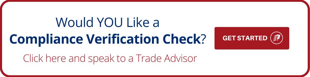 Compliance Verification Check