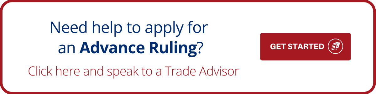 Apply for an Advance Ruling