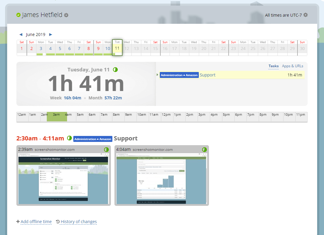 screenshot monitor review