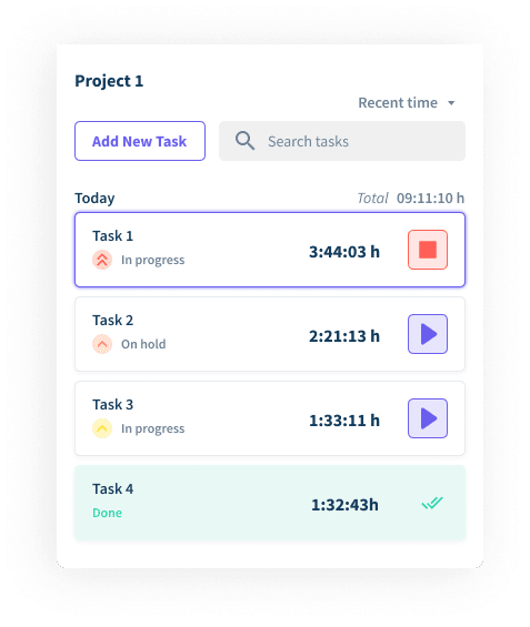 task tracking