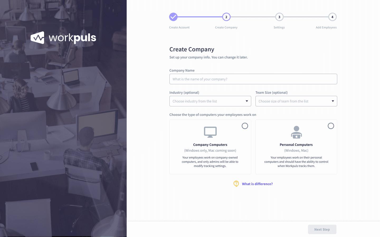 create company workpuls