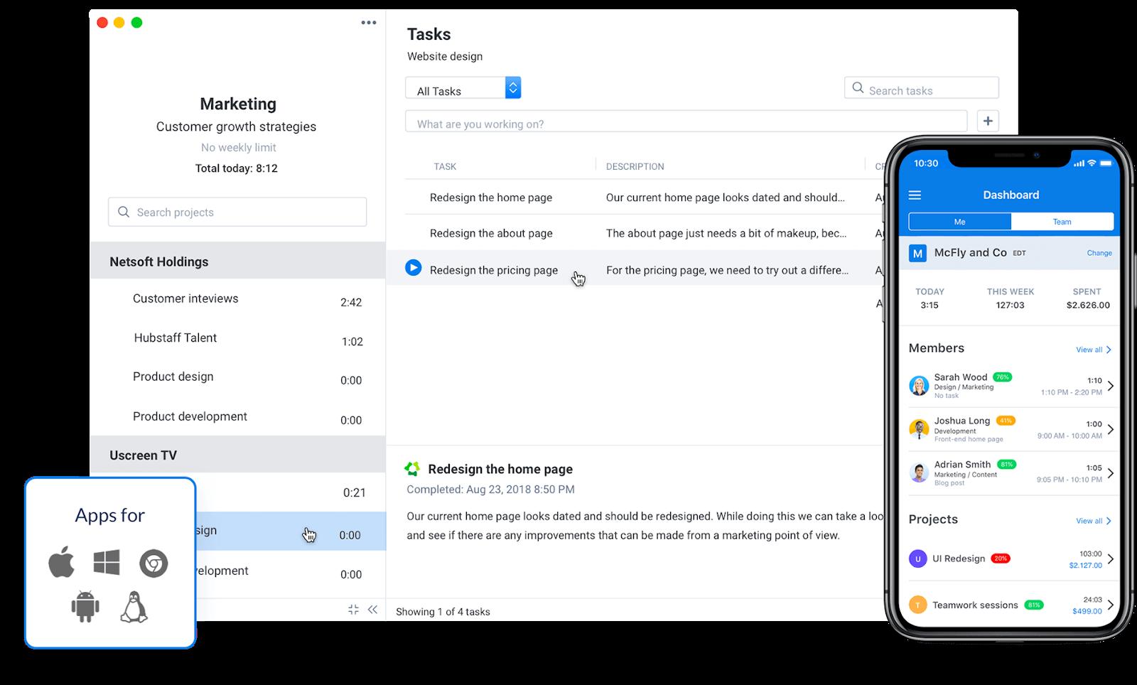 best work time tracker apps