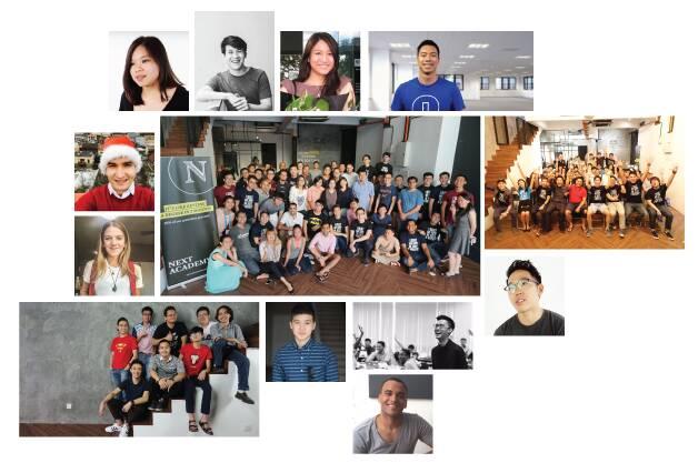 next academy alumni collage
