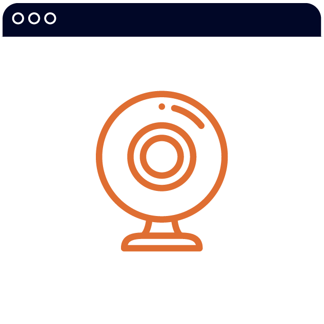 icon of a webcam