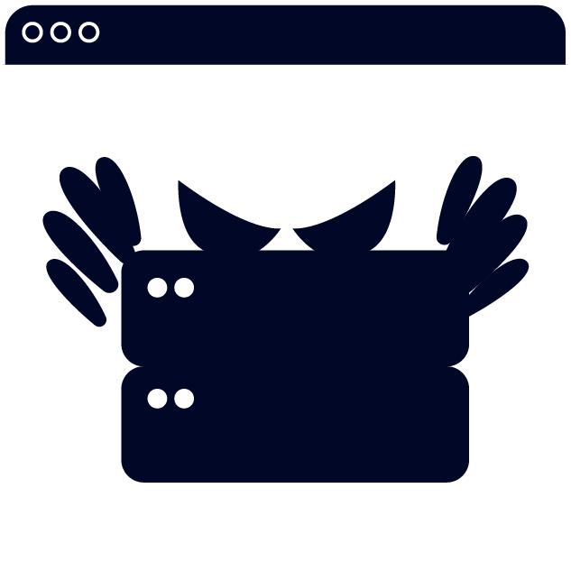 icon of cryptojackers