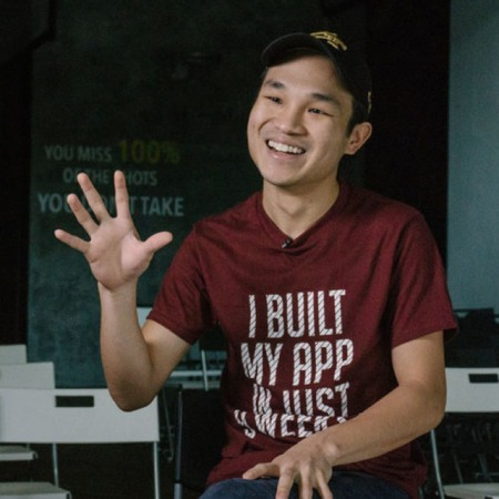Josh Teng, founder of NEXT Academy, Southeast Asia's best coding and digital marketing school
