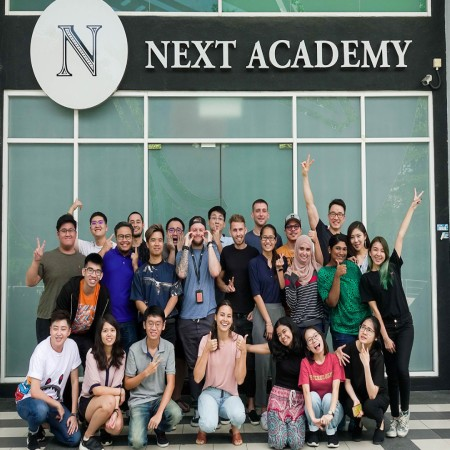 next academy coding students graduation