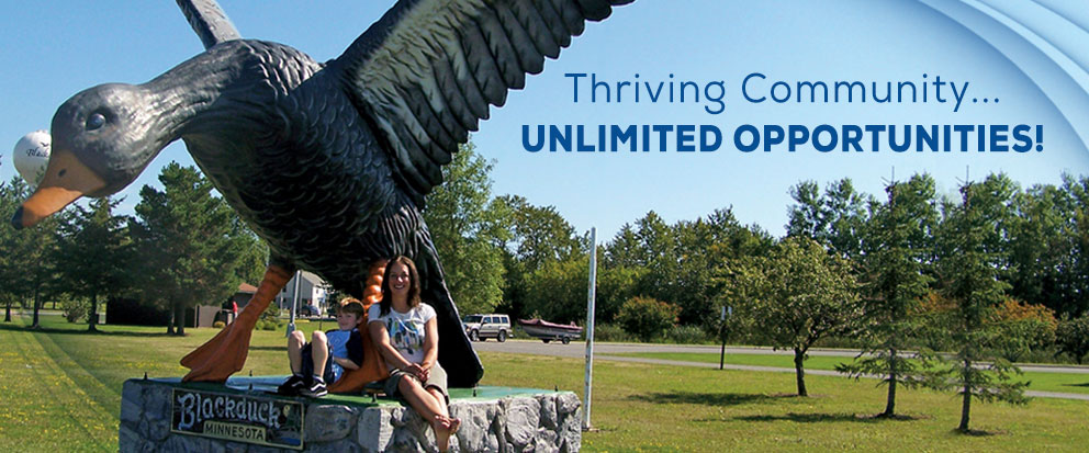 Thriving Community... Unlimited Opportunities!