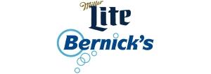 Miller Lite and Bernick's Beverages logo