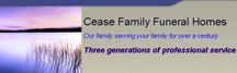 Cease Family Funeral Home