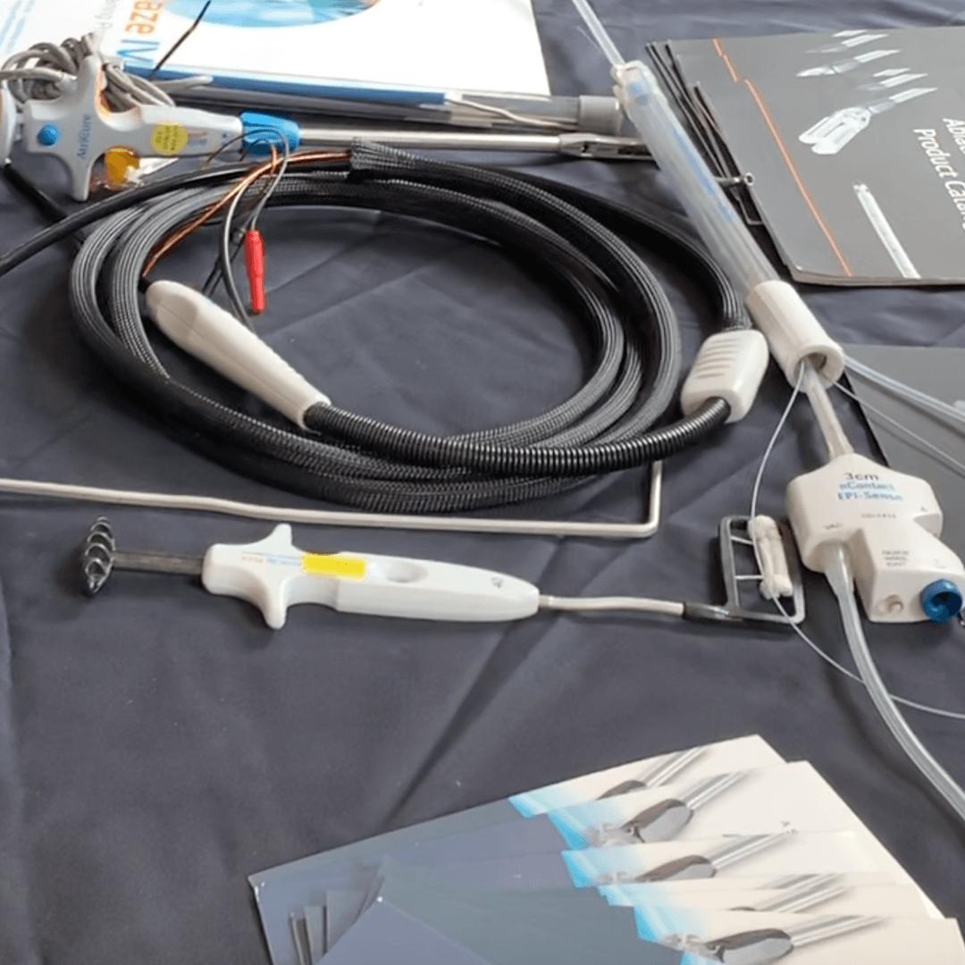 London Core Review Cardiothoracic Surgery Course - Sponsor  - Atricure - Product Placement