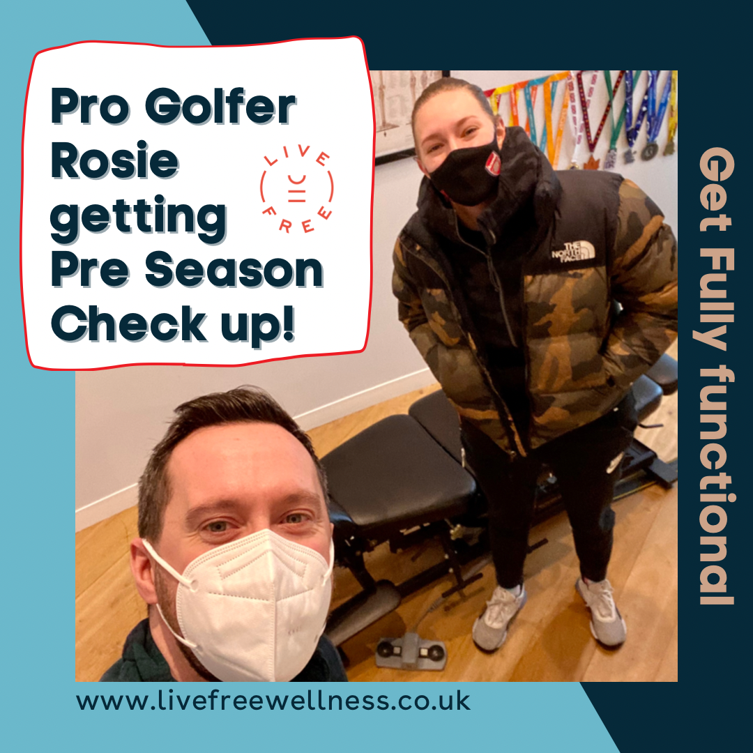 Pro Golfer Rosie Davies