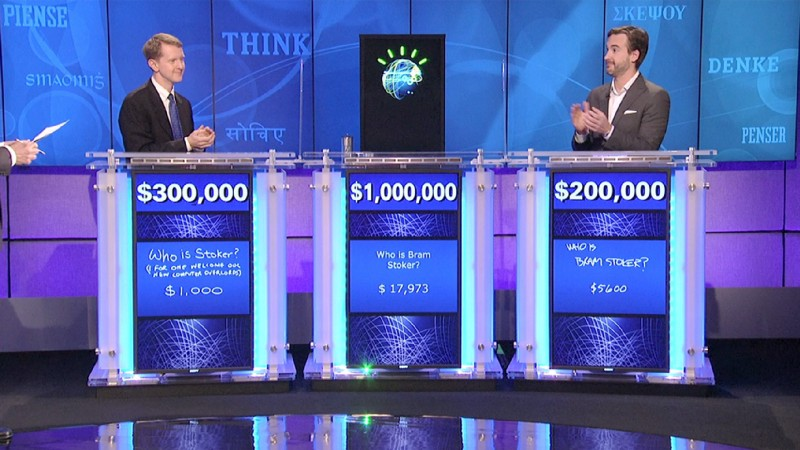 IBM Watson beating world's best jeopardy! players