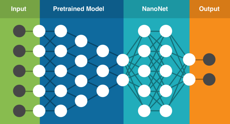 Neural network: pre-trained model and Nanonet