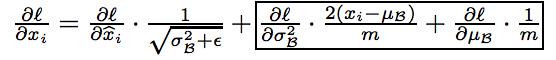 algorithm of batch renorm