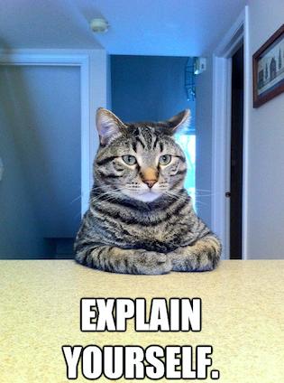 Meme of explaining AI conceptually