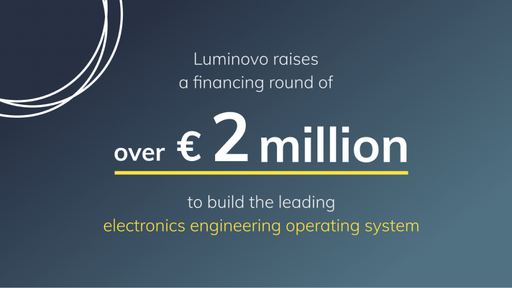 Lumimovo goes Electronics! We have received over €2 Million in pre-seed funding for our new journey into the Electronics Industry.