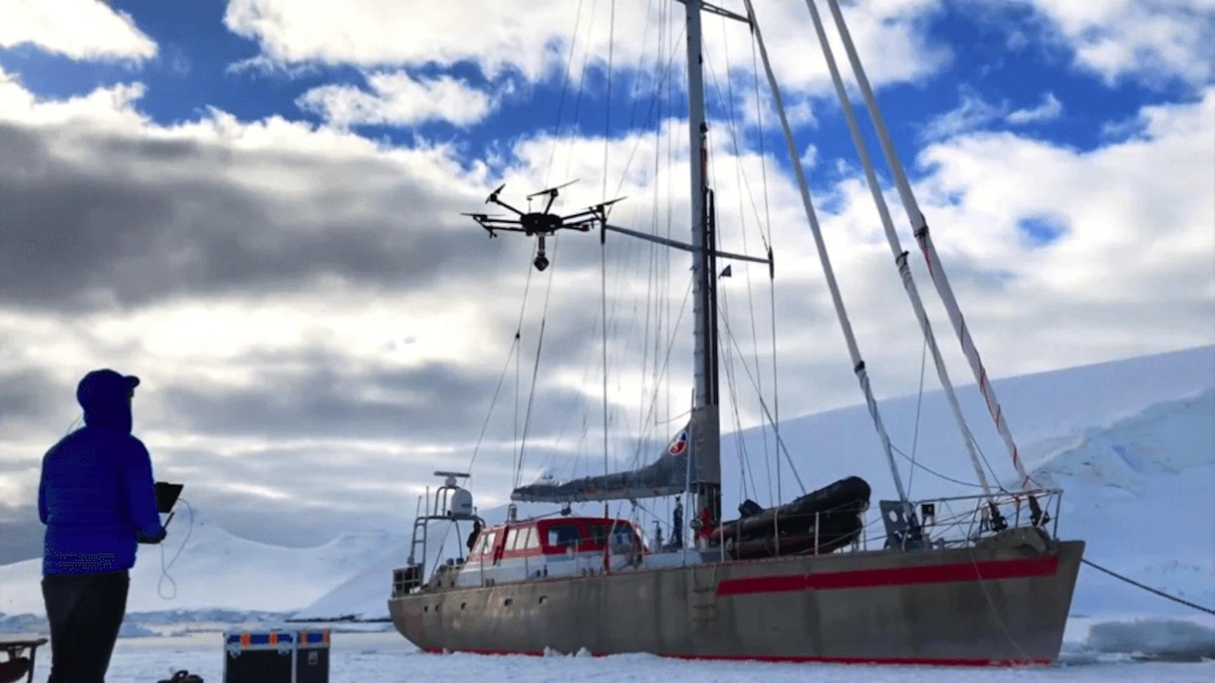 drone antarctica