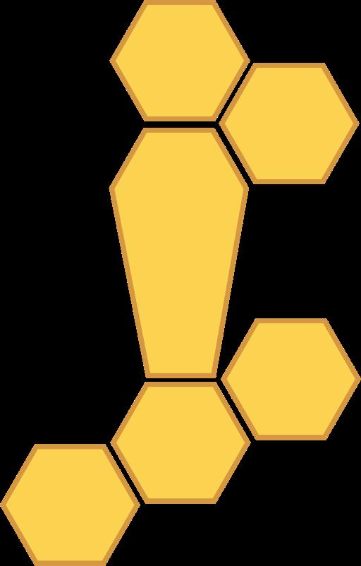 honey comb vectors