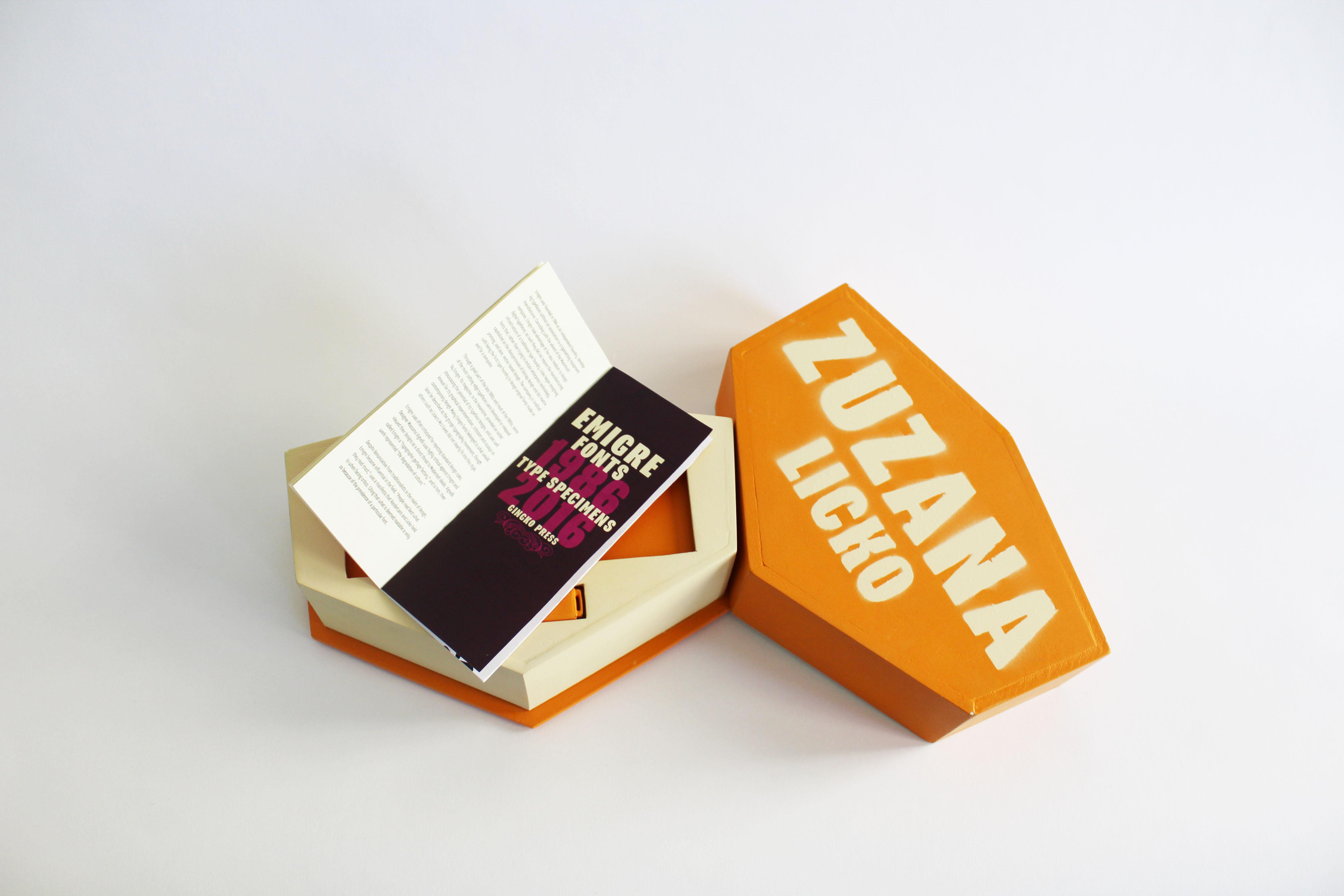 3D box book spreads