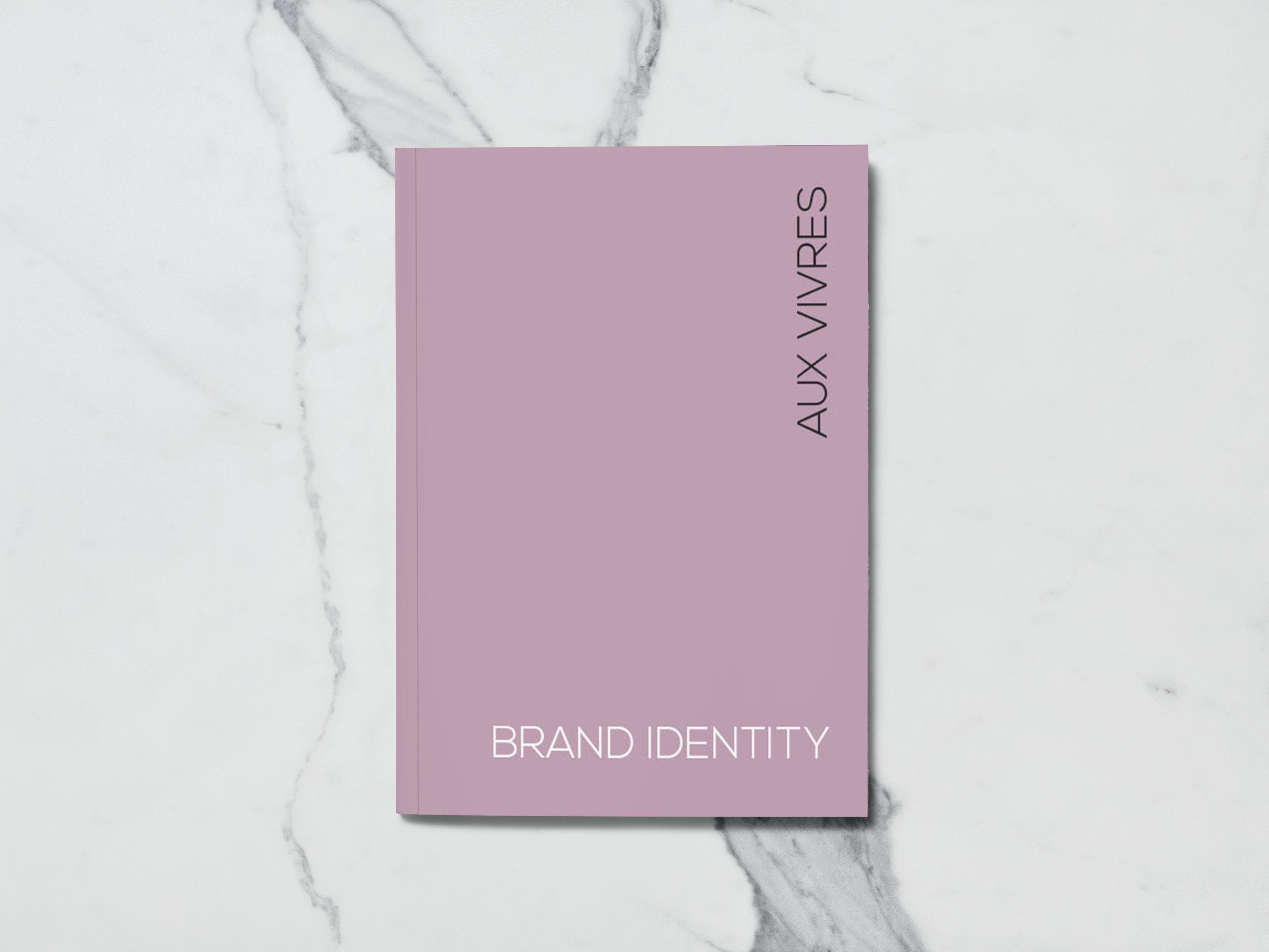 Aux Vivres brand identity