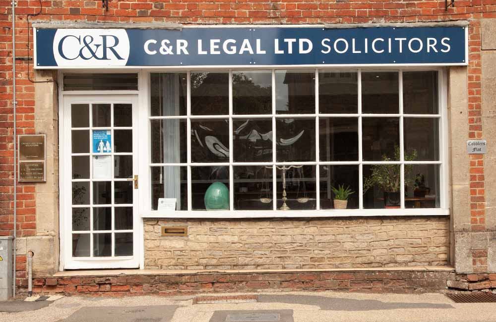 C&R Legal Solicitors office in Lechlade, previously Crowdy & Rose Solicitors