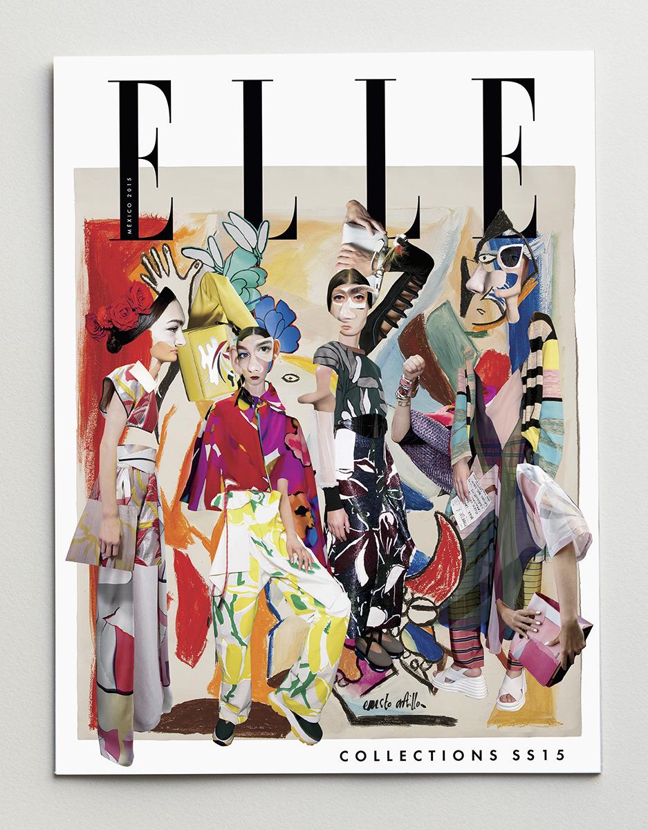 """ELLE México Cover """"Les demoiselles d'Avignon"""""""