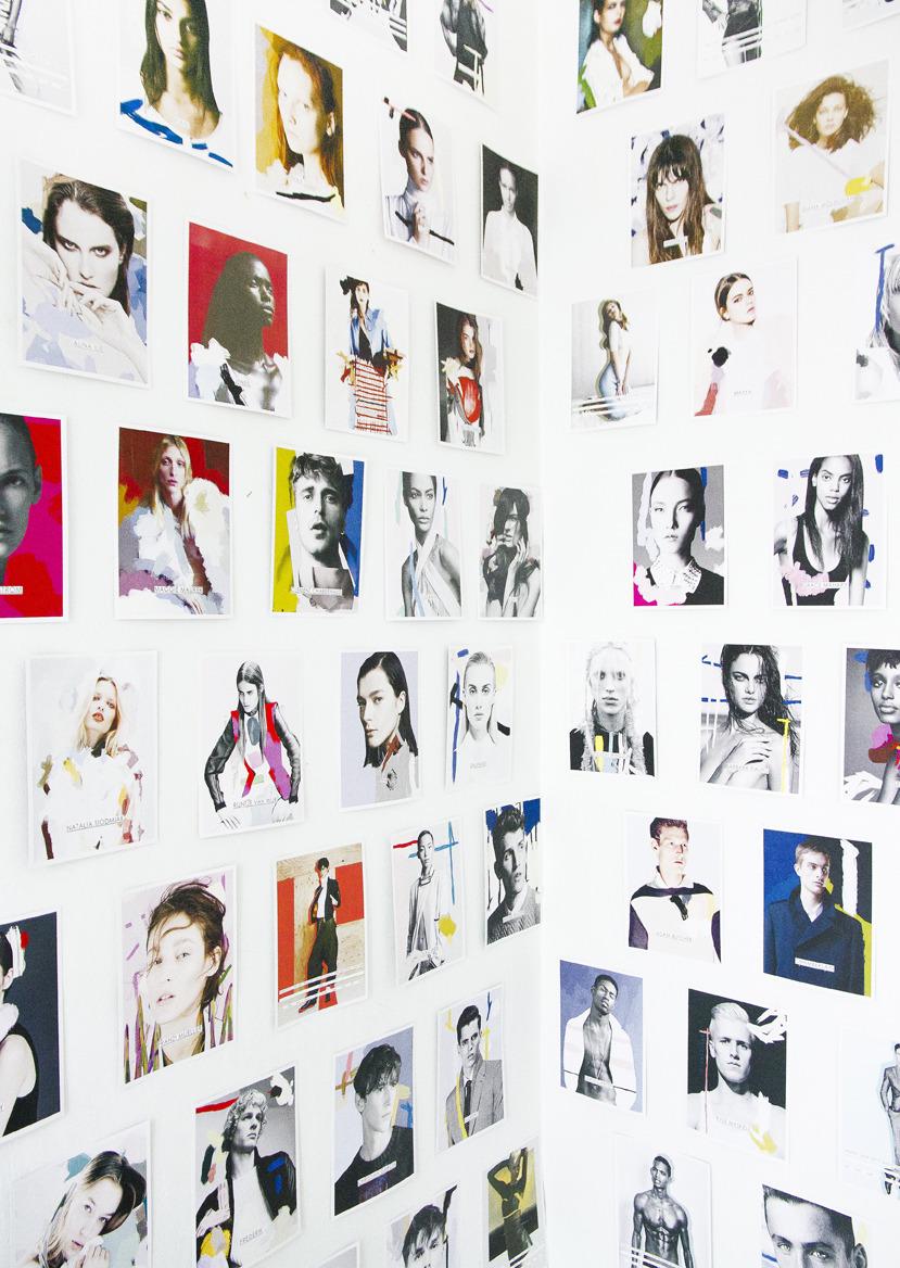 IMG MODELS NY Artwork Collab
